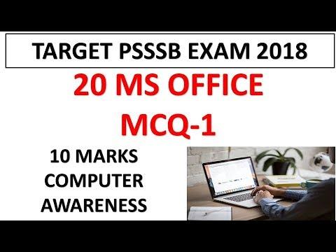 Computer Awareness Mcq Pdf