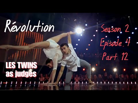 Révolution S02E04 - Part 12 Cédrick And Manu (Les Twins As Judges)