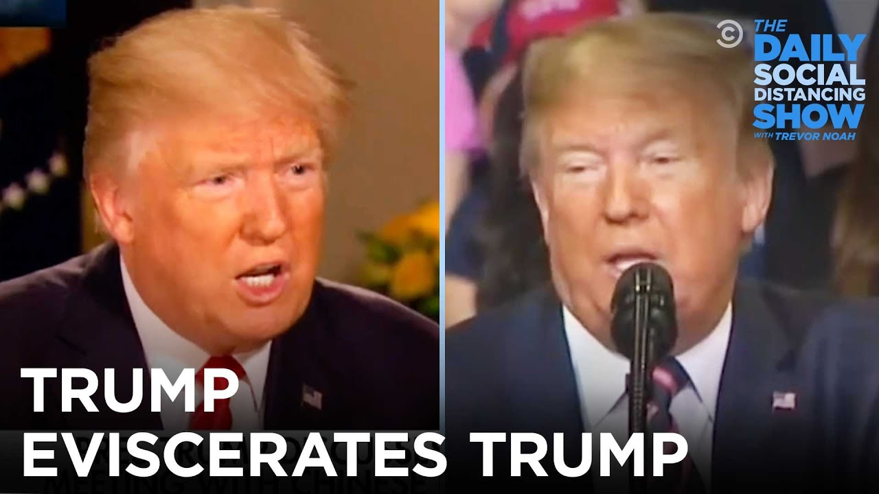 Download Trump Eviscerates Trump | The Daily Social Distancing Show