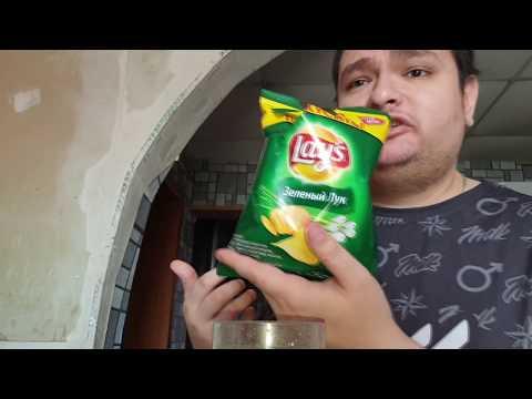 Обедаю чипсами в