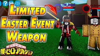 How To Get Limited Easter Event Weapon Boku No Roblox Remastered