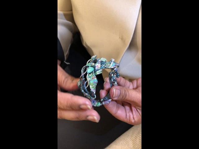 Neha Dani's Shristi:Universe bracelet