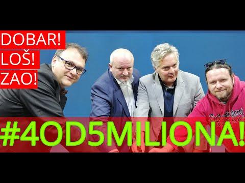 Dobar Loš Zao //// Gosti: Vladimir Gajić i Veljko Mijailović - 22. mart 2019.