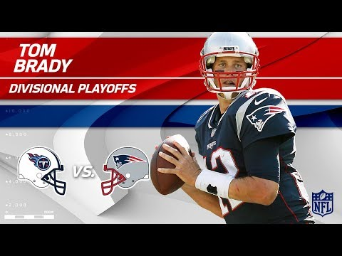Tom Brady Leads Pats to Victory w/ 337 Yards & 3 TDs! | Titans vs. Patriots | Divisional Player HLs