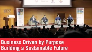 Business Driven by Purpose. Building a Sustainable Future