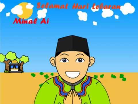 Gambar Animasi Idul Fitri 2019