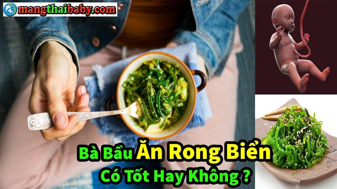 ✅ Bà Bầu Mang Thai Ăn Rong Biển Có Tốt Hay Không ? | Mang Thai Nên Ăn Gì ?