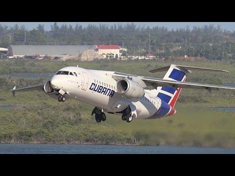 Cubana | Departure from the Tower | Antonov AN-158 | Nassau Bahamas