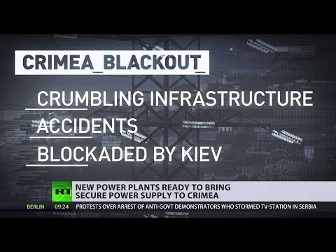 Russia's two new power plants will boost Crimea's energy independence