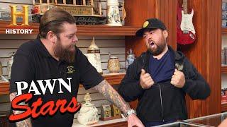 Pawn Stars: HULK HOGAN MAG MAKES CHUM RUN WILD (Season 17) | History