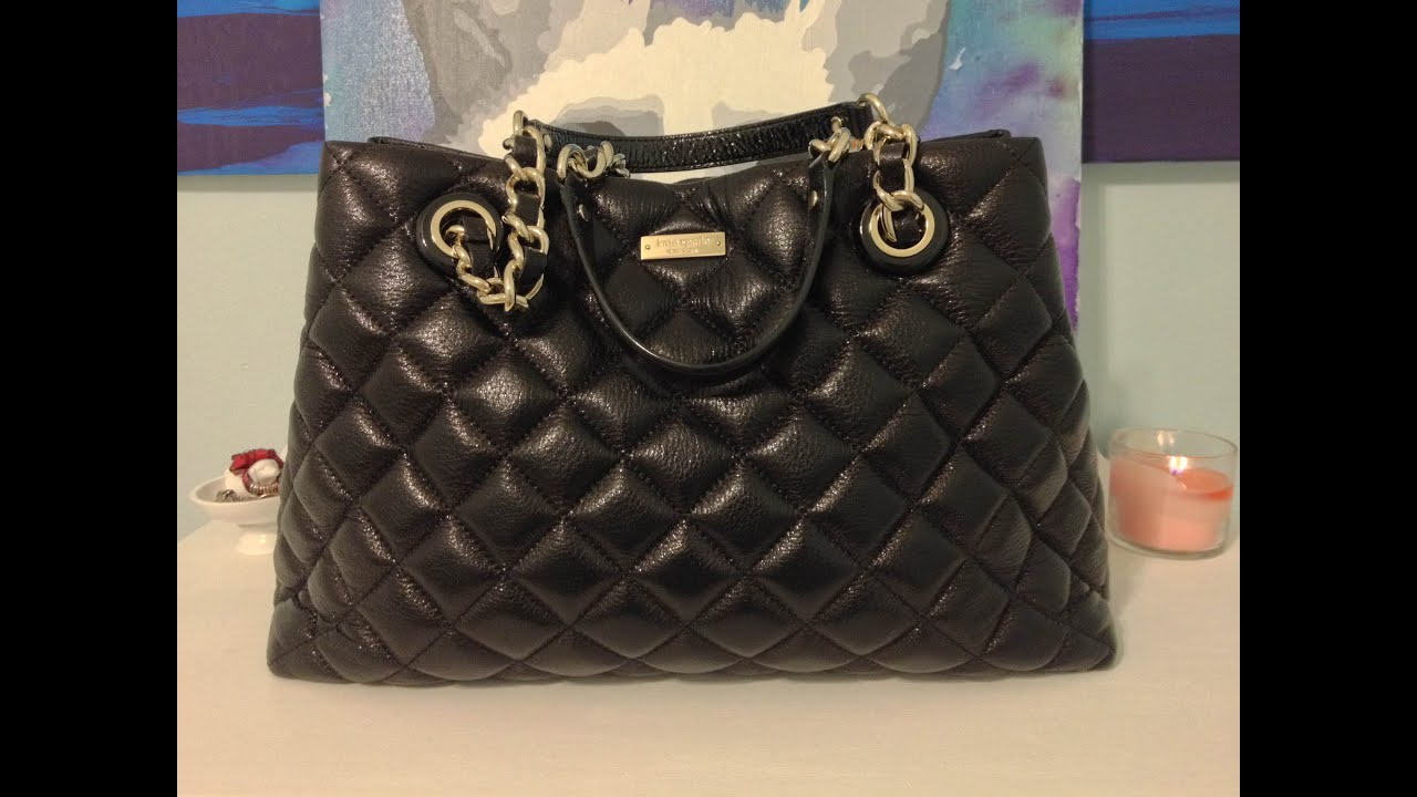 Whats In My Bag Kate Spade Gold Coast Maryanne Youtube