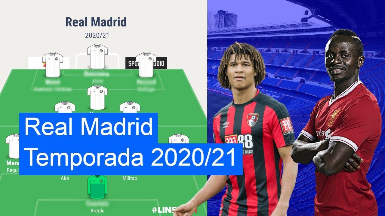 Fichajes que DEBE hacer el Real Madrid temporada 2020/21 | Mi Real Madrid para la proxima temporada