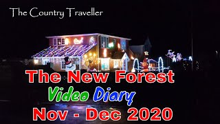 The New Forest Video Diary in November and December 2020  #add3minutes