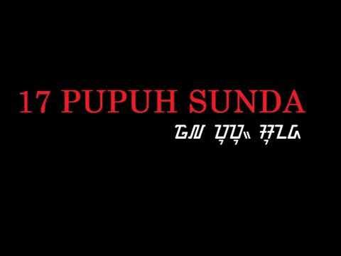 AUDIO PUPUH #KINANTI.