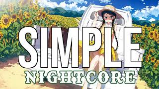 (NIGHTCORE) Simple - Florida Georgia Line