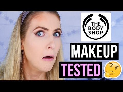 FULL FACE Using THE BODY SHOP Makeup?! || What Worked & What DIDN'T