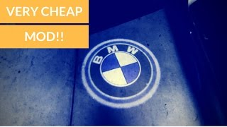EASIEST/CHEAPEST MOD BMW (Door LED)