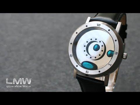 Liquid Metal Watch - First Look   Tokyoflash Japan
