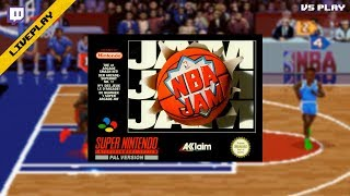 [Twitch][LivePlay] NBA Jam (SNES)(VS)