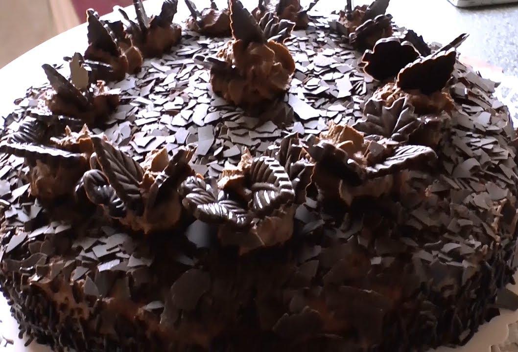 Einfachste Schoko Torte Kalorienarm Low Carb Ohne Gelatine