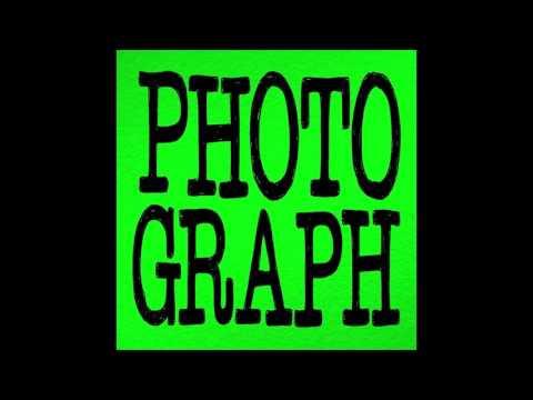A Level Music Technology Task 3B  PHOTOGRAPH   ED SHEERAN