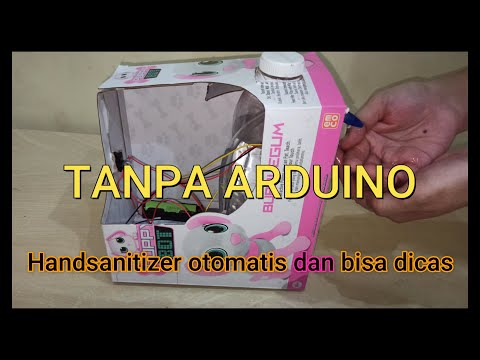Make Automatic Hand Sanitizer and Chargeable with HP Charger