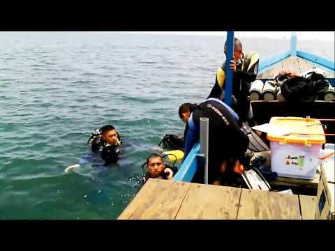 Profesional diver# diving in sea near sumpat island# tracking Wonder of the beautiful sea