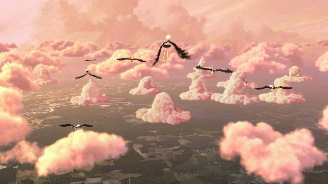 How To Set Animated Wallpaper Partly Cloudy Walt Disney Pictures And Pixar Animation