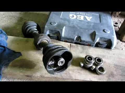 Замена трипоида и внутреннего пыльника на Форд Мондео 3.