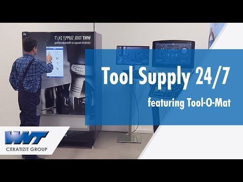 WNT's Tool Supply 24/7 featuring Tool-O-Mat 840 Tool Dispensing System