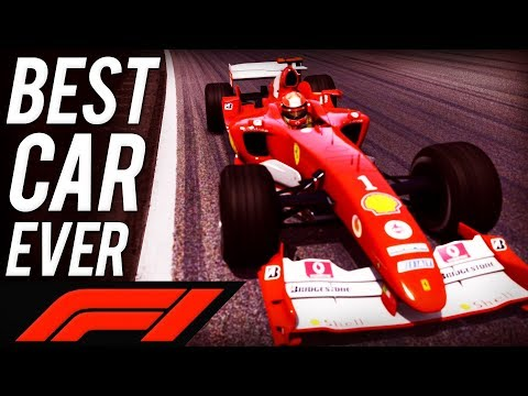 Driving my favourite F1 car...   Assetto Corsa F2004 @ Spa