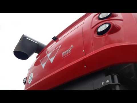 Битва за урожай 2016, Massey Ferguson 7370 BETA, обзор внешнего вида и дизайна комбайна.