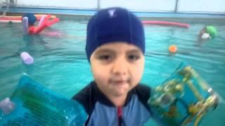 Nadando cómo pato :)