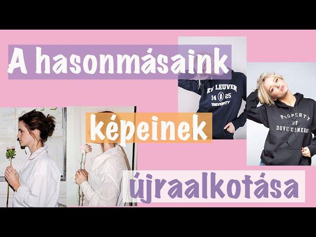 Újraalkottuk a HASONMÁSAINK képeit | Lina és Panni