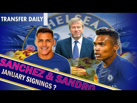SANCHEZ & SANDRO ENOUGH TO KEEP CONTE? || CHELSEA TO FLEX THIS JANUARY ? || Chelsea TD