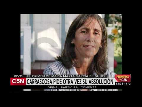 C5N - María Marta García Belsunce: Carrascosa pide otra vez su absolución