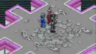 MegaMan Battle Network 6: Cybeast Gregar - Double Boss Fight