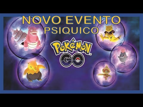 Evento psíquico em Pokémon go thumbnail