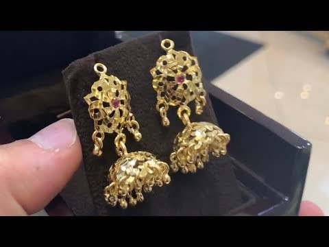 How I Make Gold Ear-rings By Hand | Jewelry Making | How It's Made | 4K Video