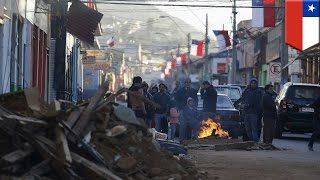 Chile earthquake: 1 million evacuated, 8 dead after huge earthquake strikes the country - TomoNews