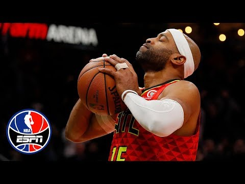Vince Carter slams home 25,000th career point in the final second | NBA on ESPN