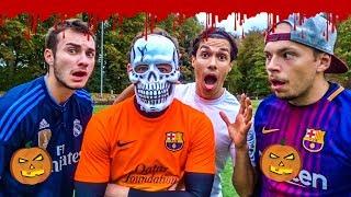 HALLOWEEN SPECIAL: GRUSELIGE FUßBALL CHALLENGE + FIFA 19 GEWINNER | LOCOFLOKI