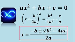 ¿De dónde sale la fórmula general de segundo grado? (Demo...