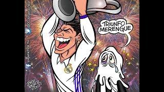 MEMES Real Madrid, campeón de la Champions League LA DOCE  VENCE 4-1 A LA JUVENTUS EN CARDIFF