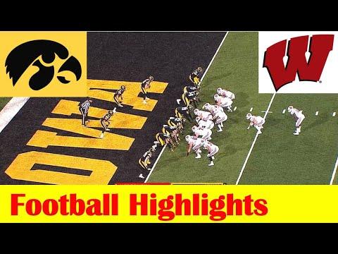 Wisconsin vs Iowa Football Game Highlights 12 12 2020