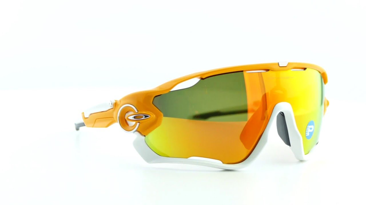 1b2ec0ede5 Oakley Jawbreaker Atomic Orange  Fire Iridium Polarized - OO9290-09 ...