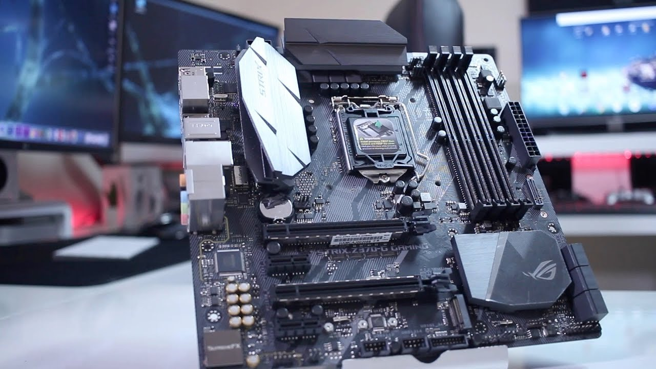 ASUS ROG STRIX Z370-G MICRO ATX OVERVIEW