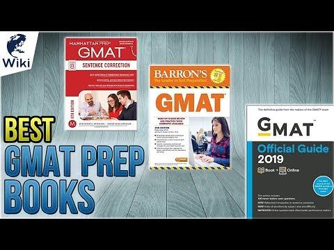 10 Best GMAT Prep Books 2018