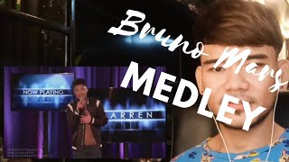 Bruno mars medley by Darren Espanto / voicebox reaction