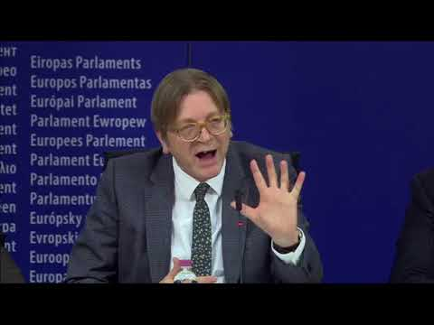 Guy Verhofstadt [08 Dec 2017] EP Press conference Brexit Steering Group